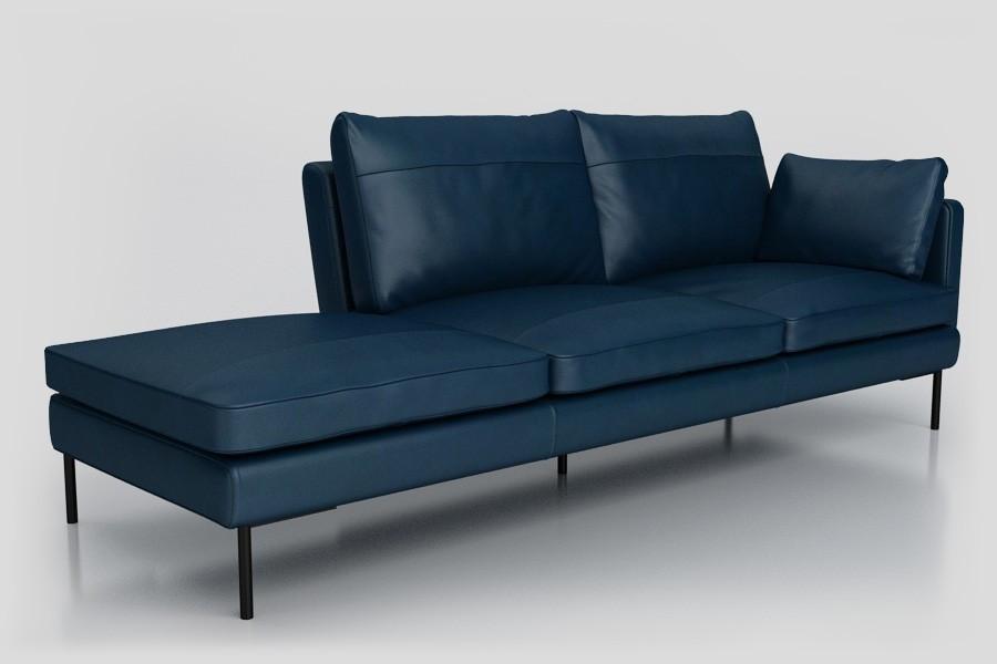 sofa New dune w kolorze granatowym