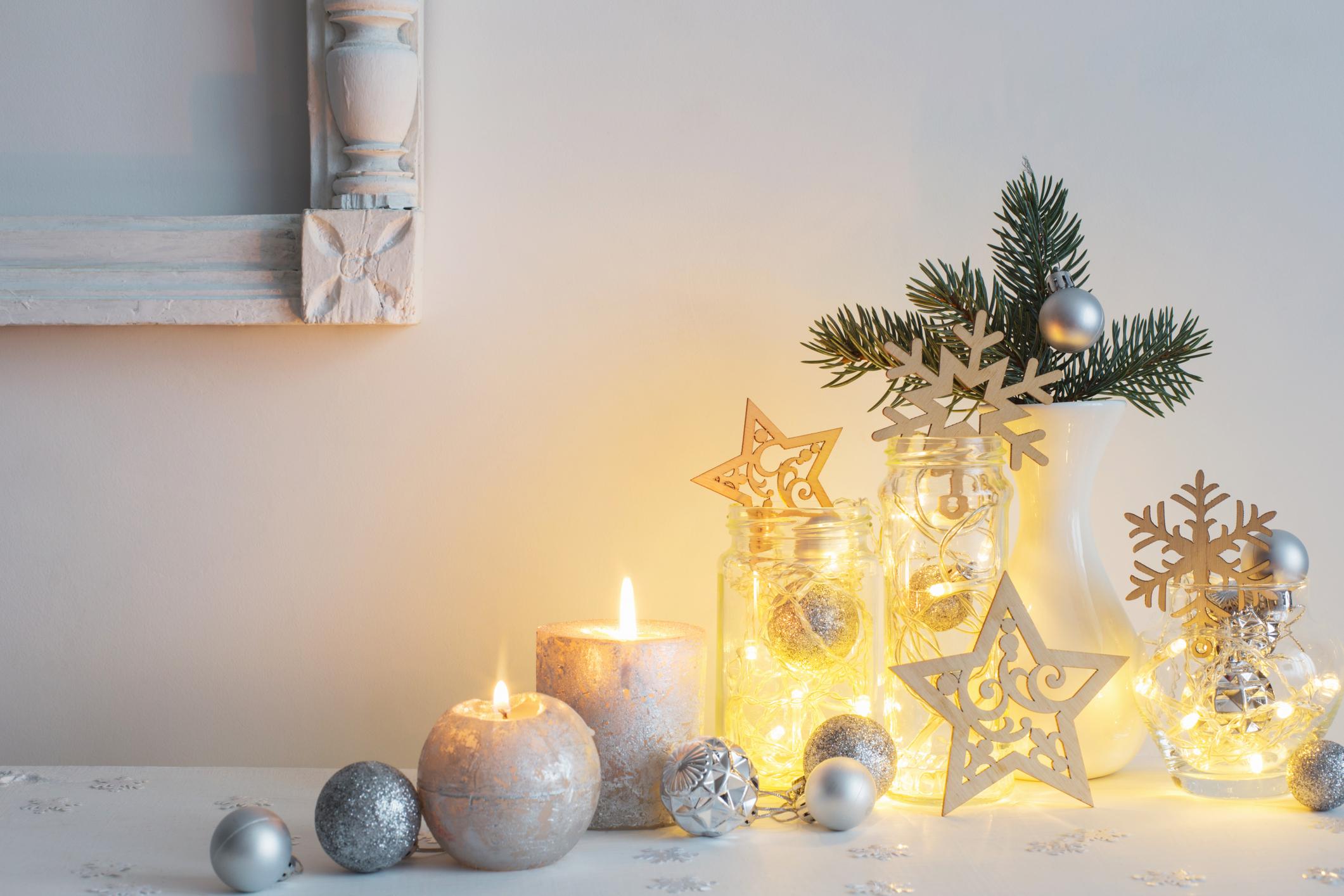 świece i dekoracje świąteczne